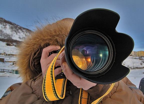Фотограф за работой!