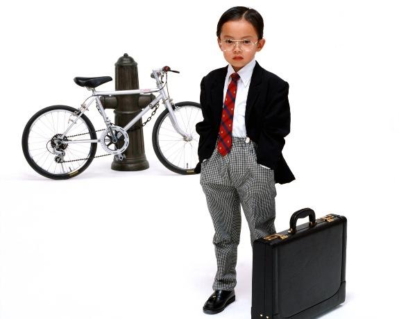 Маленький бизнесмен!