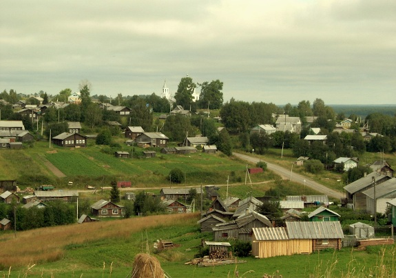 Панорамный вид села!