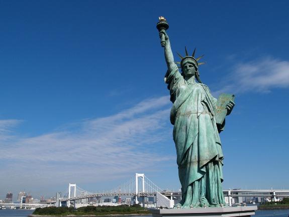 Статуя свободы!
