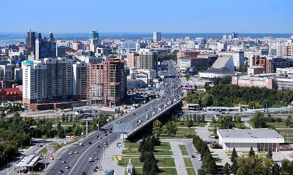 Новосибирск с высоты птичьего полета!