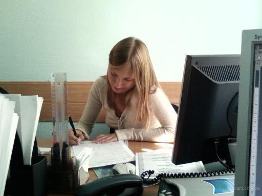 Процесс работы в офисе