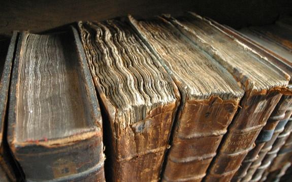 Старые книги!