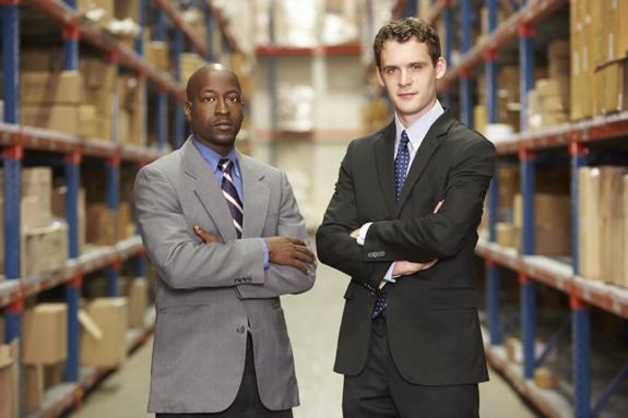 Два бизнесмена!