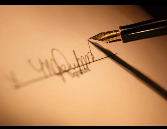 Ставим личную подпись на документах