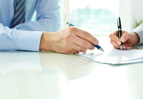 Как правильно подписывать акт?