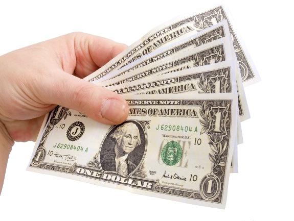 Деньги в руках!