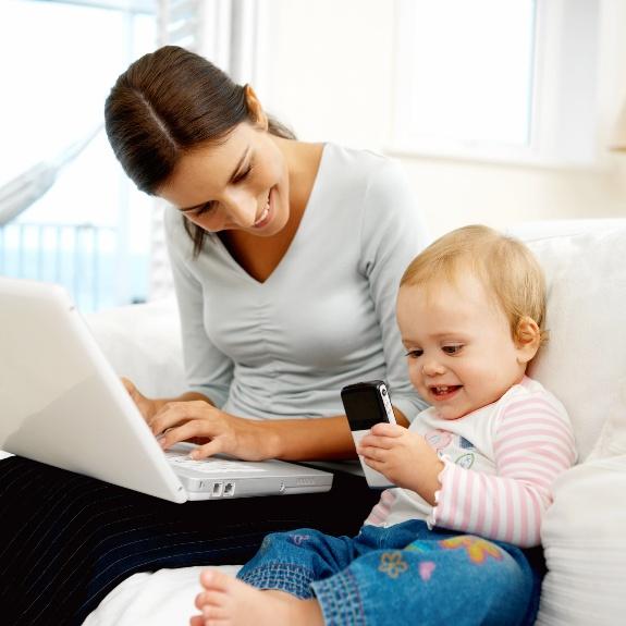 работа для молодых мам в интернете