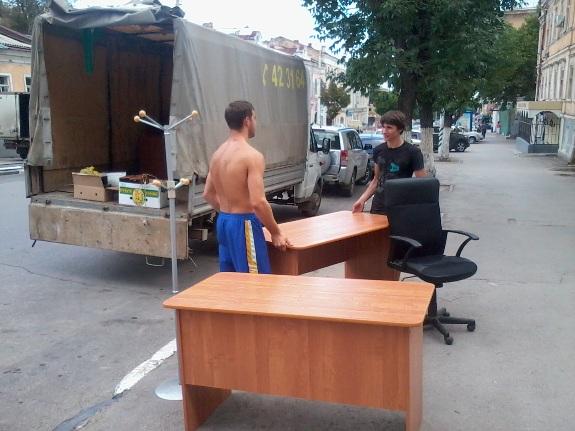 Перевозка мебели на газели!