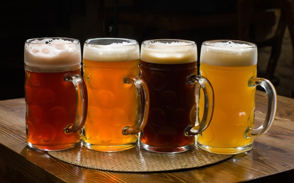 Выбор пива должен быть огромным!