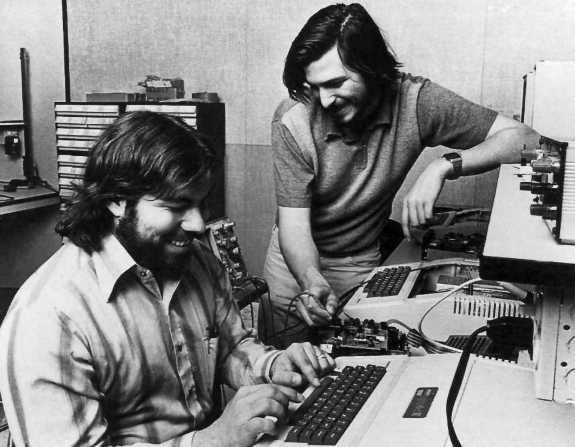 Стив Джобс начинал в гараже с другом!