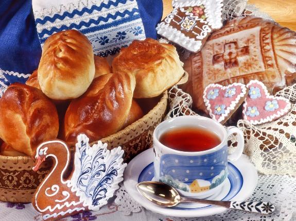 Пирожки к чаю!