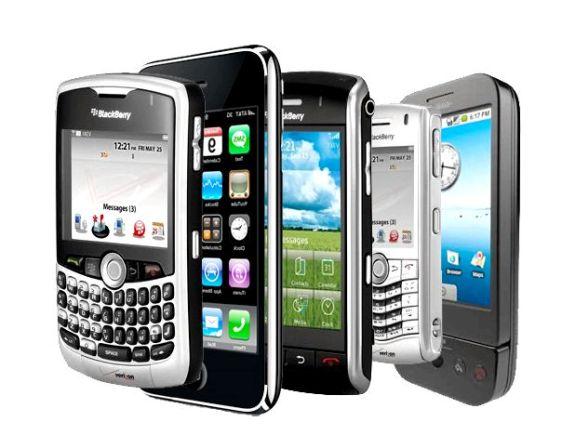Мобильные телефоны!