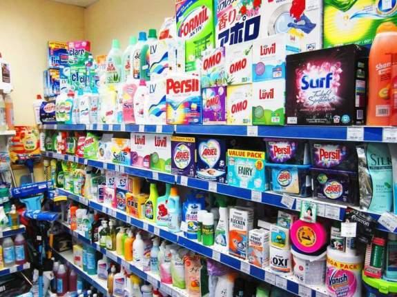 Открытие точки продаж бытовой химии