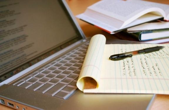 Ноутбук тетрадка и ручка
