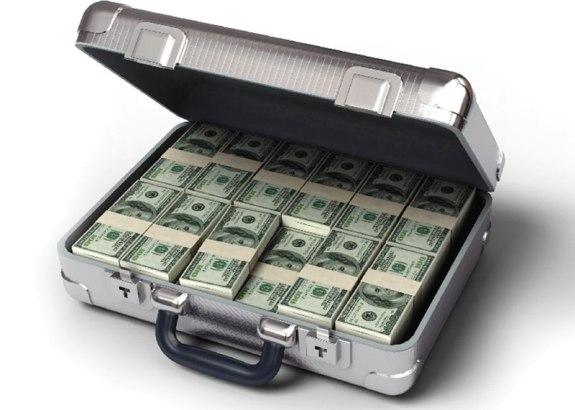 Кейс с деньгами!