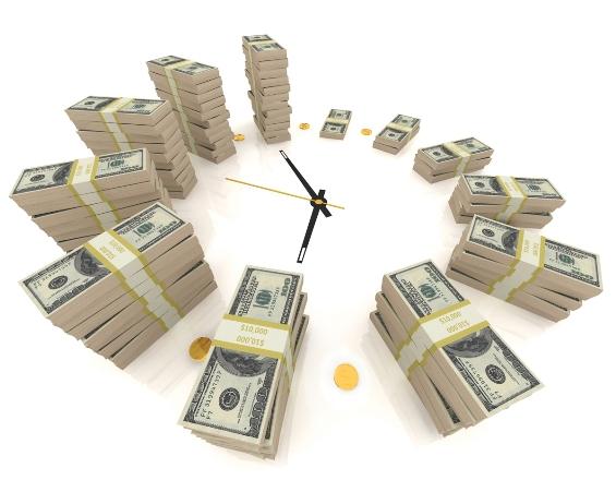 Со временем ваш вклад увеличивается!