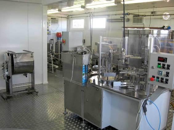 Оборудование на производстве молока!