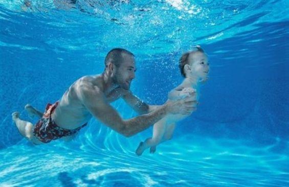 Инструктор по плаванию для ребенка!