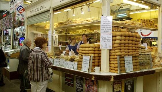 Момент покупки хлеба!