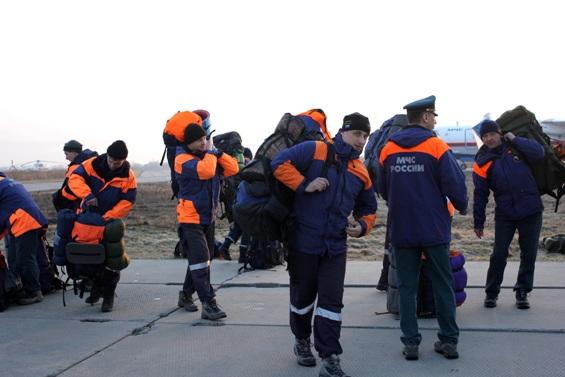 Команда спасателей